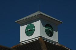 Waitrose clock tower