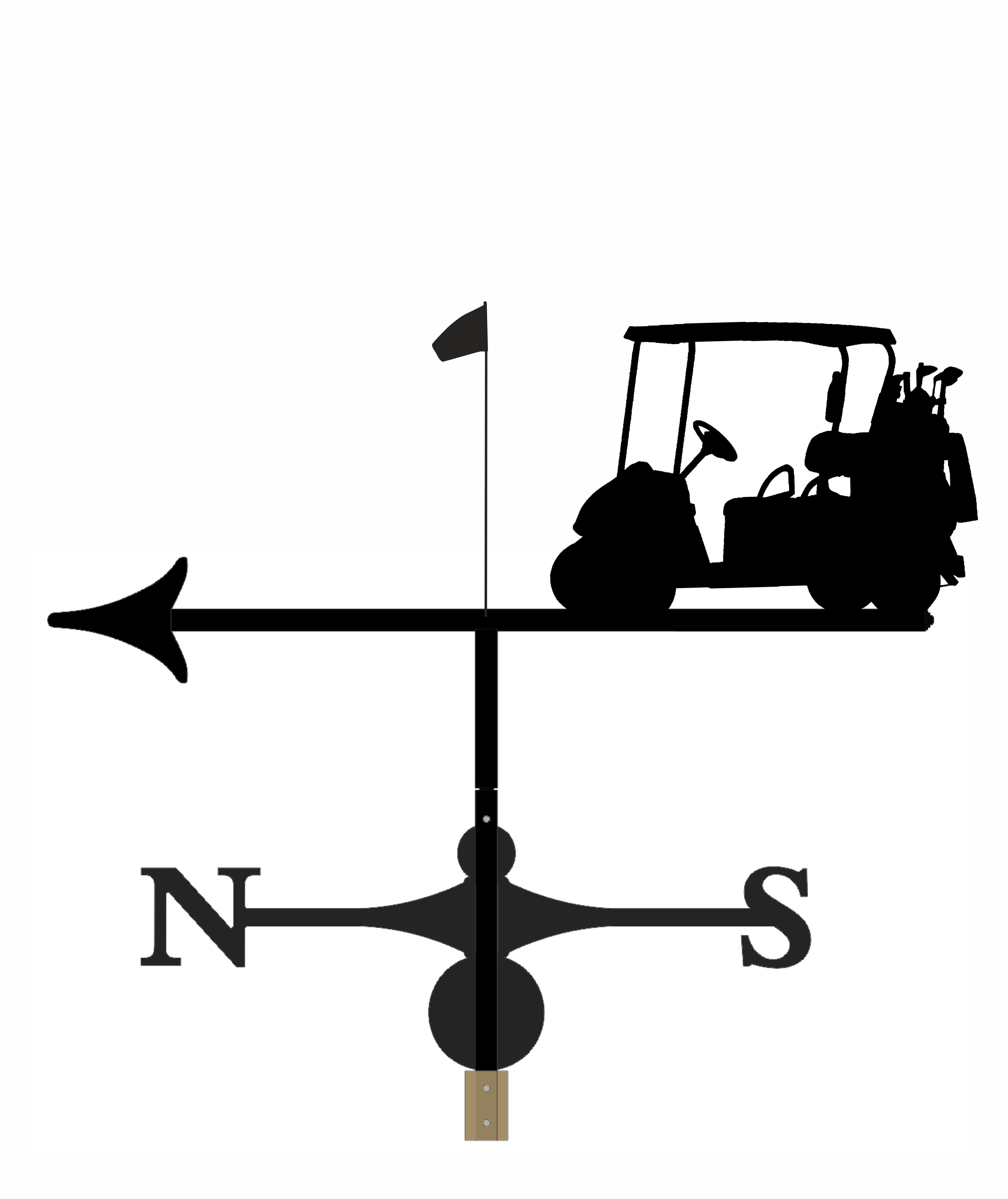 Weathervane - Golfer 6