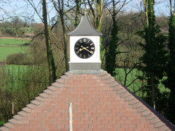 Clock tower for private garage