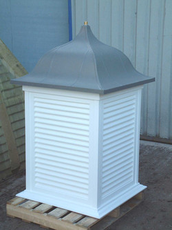 Tall roof turret
