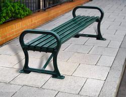 Avenue bench metal (2)