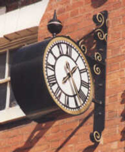 Projecting Double Sided Drum Clock