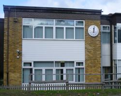 Darrick clock on wall crop