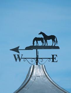 Two Horses Weathervane