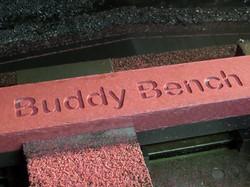 Engraving a slat