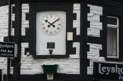 White Traditional Clock