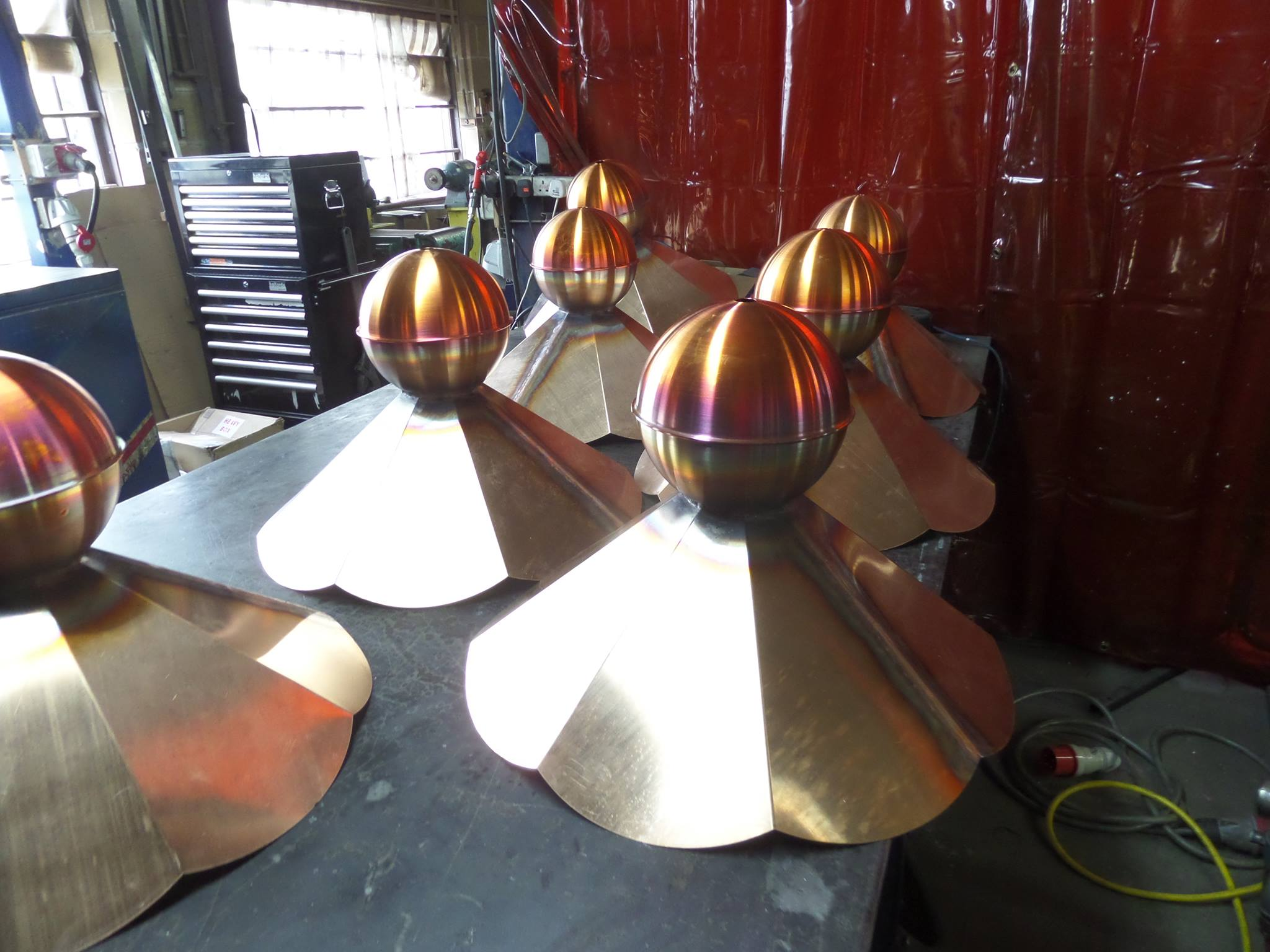 Bespoke Copper Finial