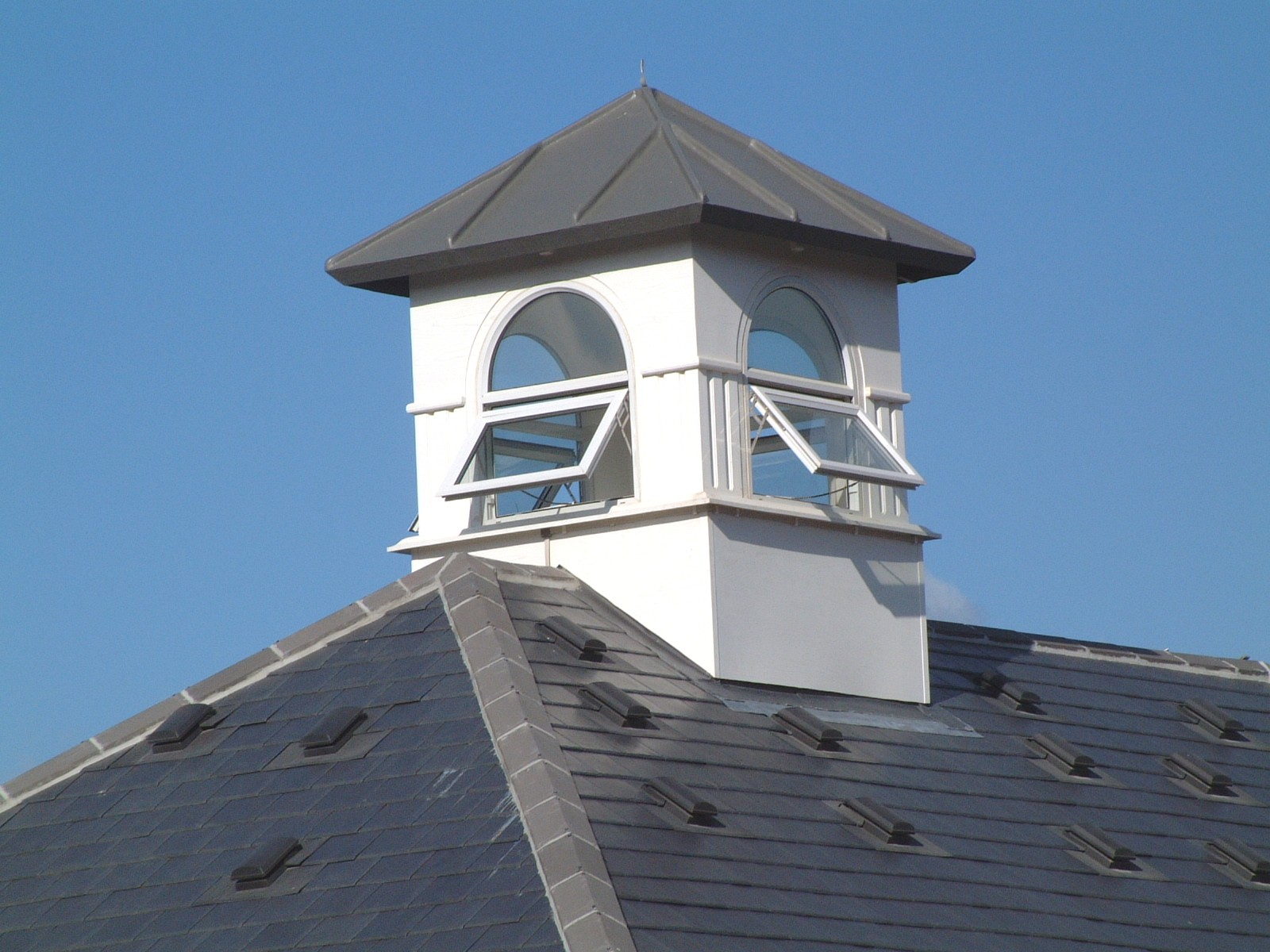 Cupola with windows