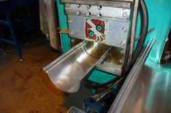 Manufacturing stainless steel gutter