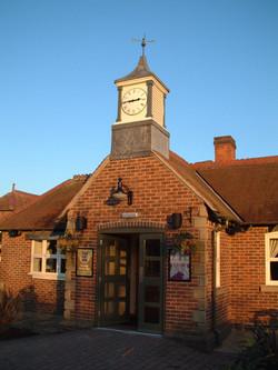 Large exterior clock