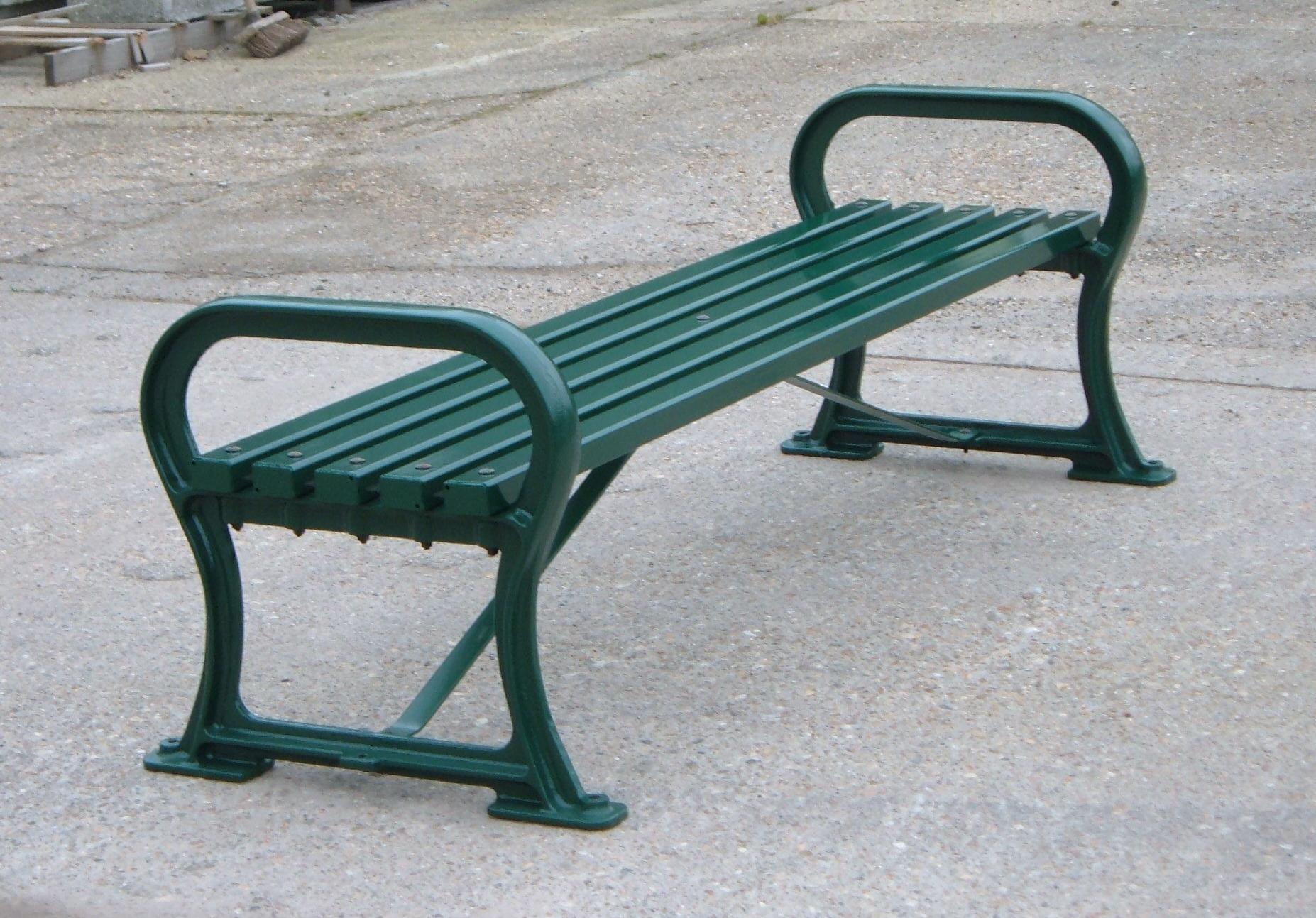 Avenue bench metal (3)