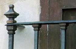 Copper antique railings