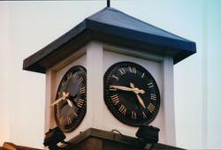 Large External Clock Tower