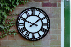 Large Skeleton style Wall Clock for Buildings Skeleton style Wall Clock