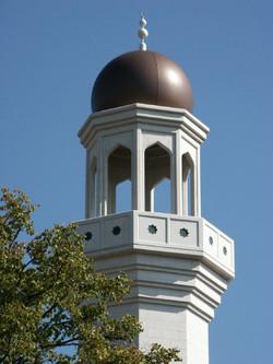 Mosque minaret in GRP