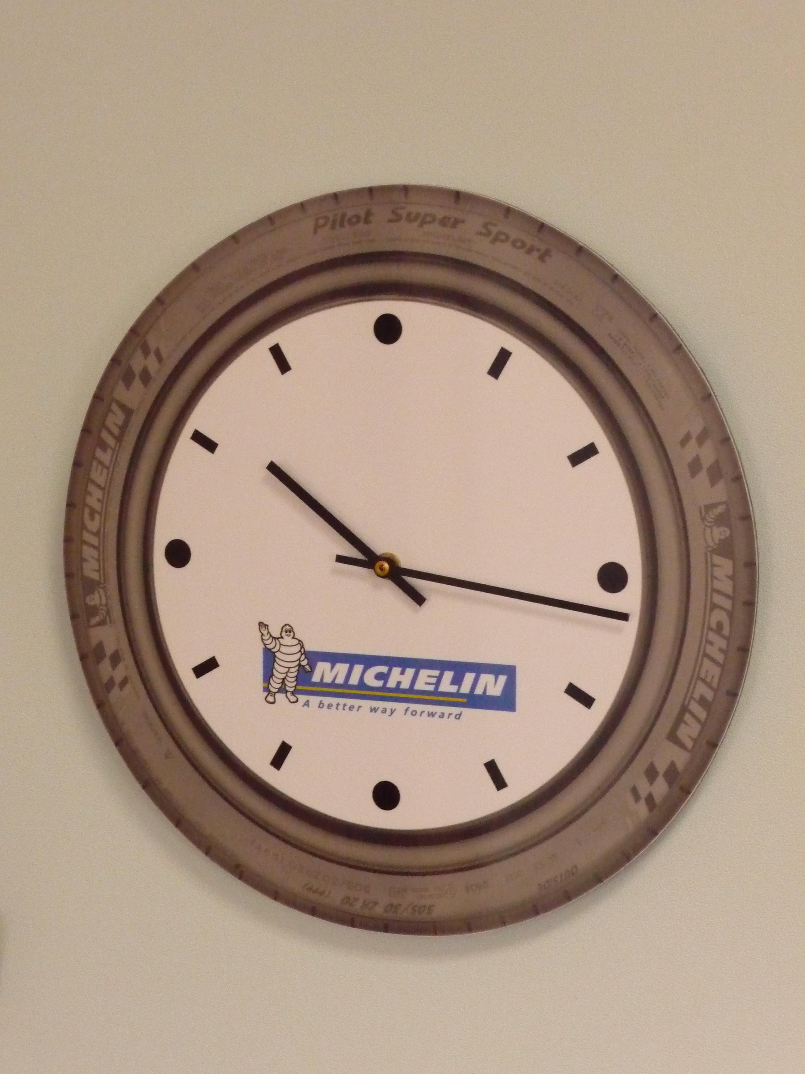 Digital printed clock dial