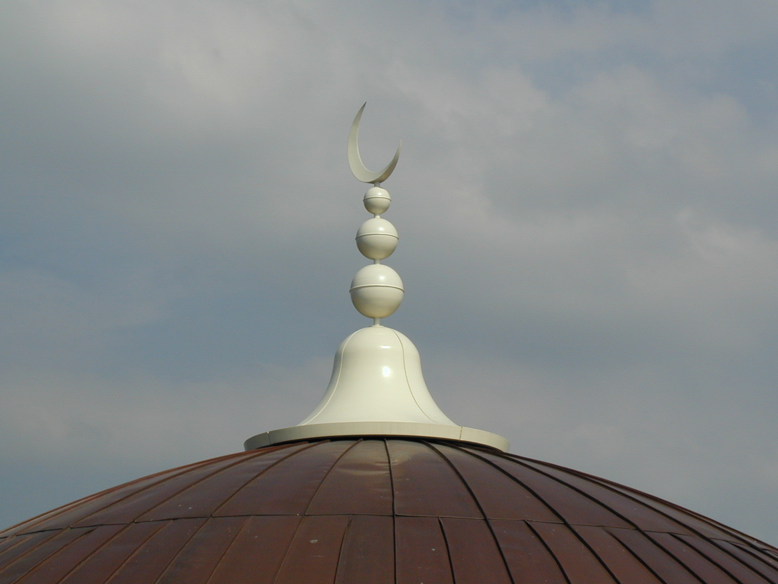 Bespoke finial for a Mosque