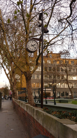 Public clock for the Olympic Park
