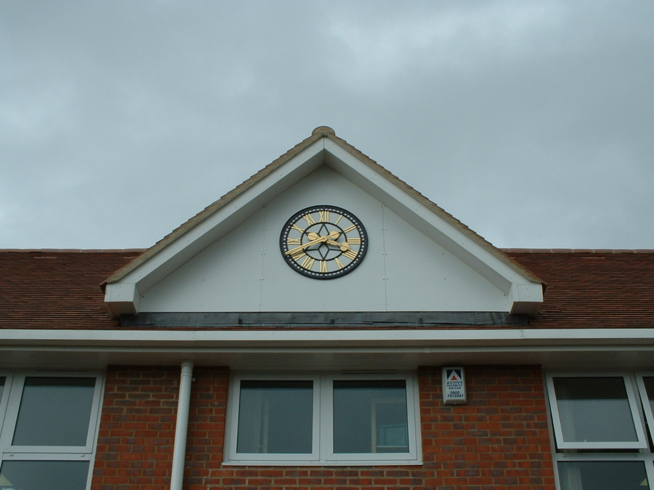 Large Outdoor School Clock