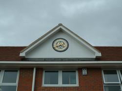 Large Outdoor School Clock