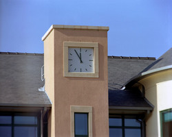 Rectangular markers clock
