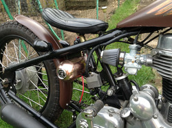 Motor bike with copper components