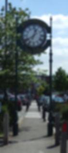 Double Sided Piilar Clock