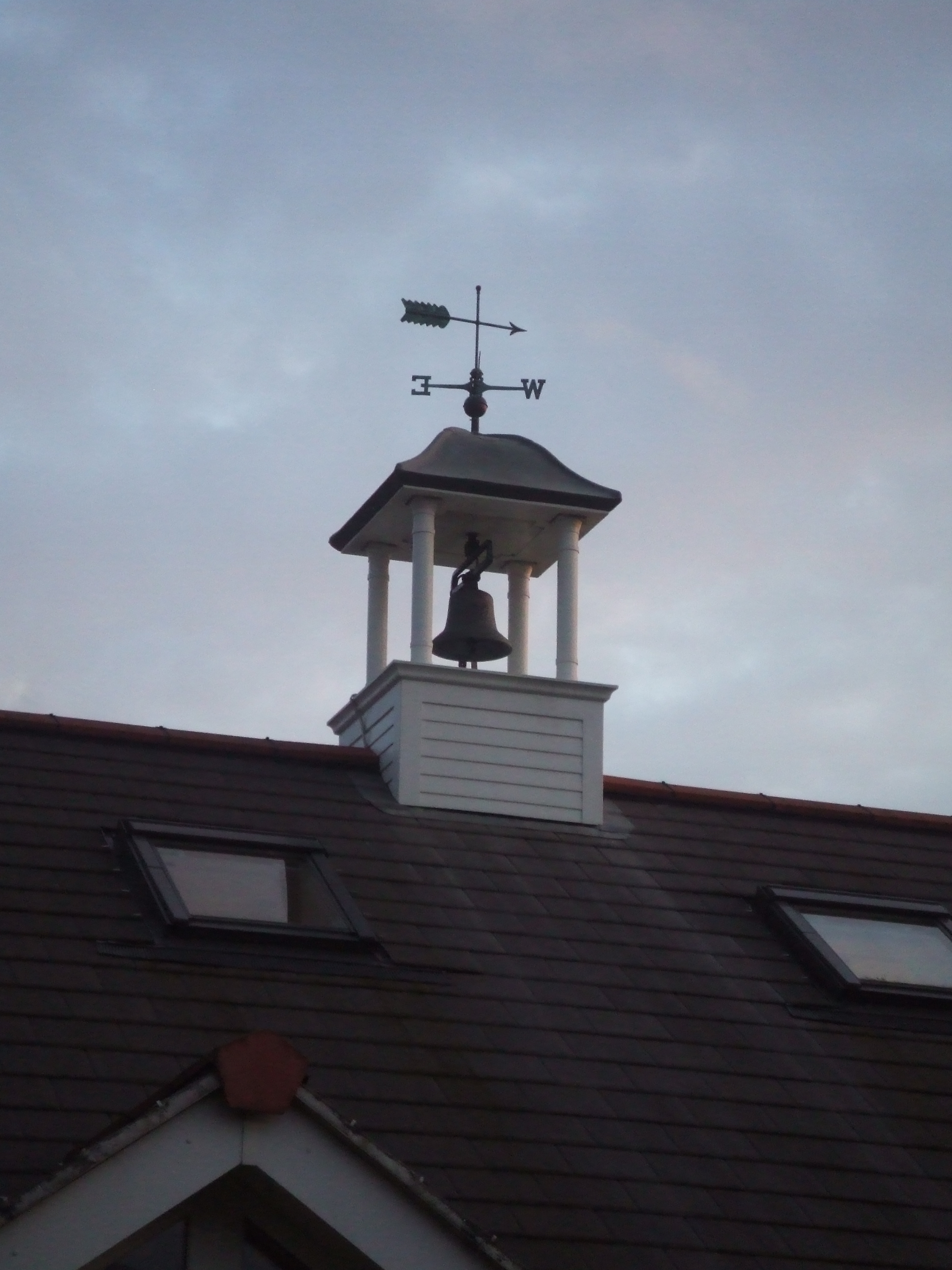 Bell tower for village hall