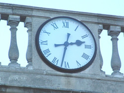 Brompton Barracks Bezel clock
