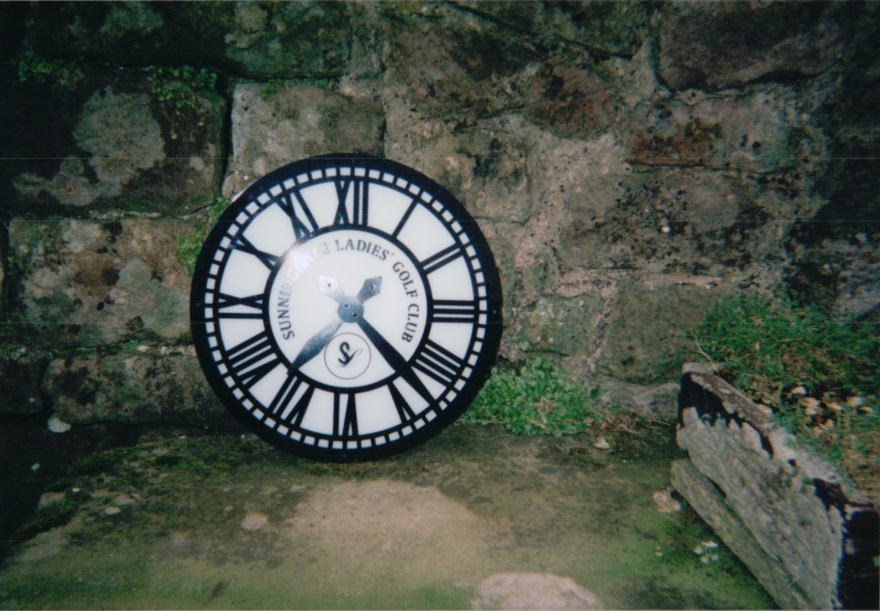 Skeleton style clock for exterior use