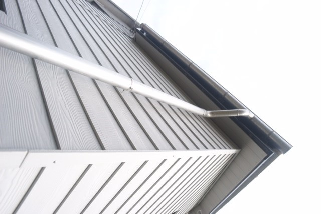Stainless guttering 8