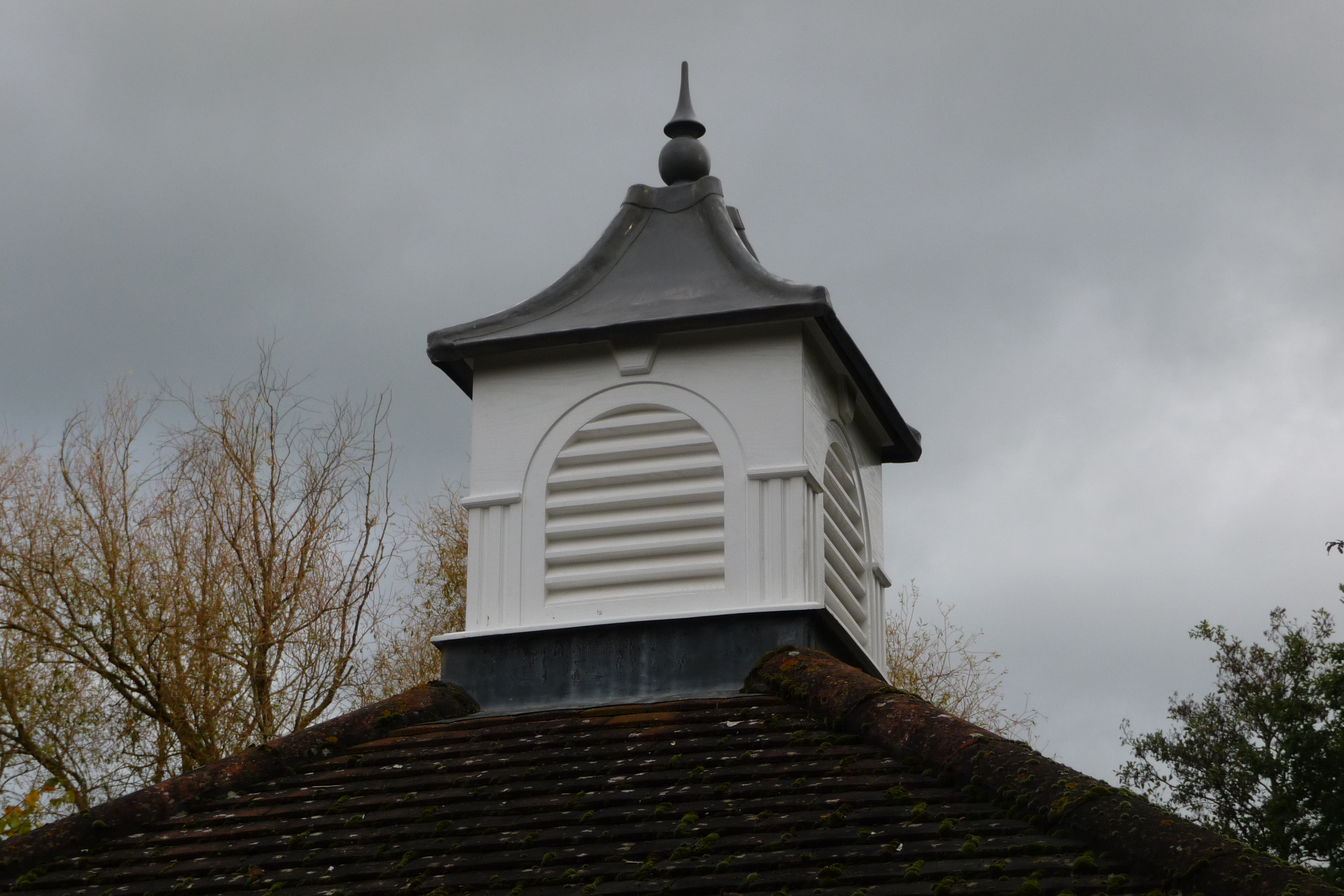 Oxford roof turrets
