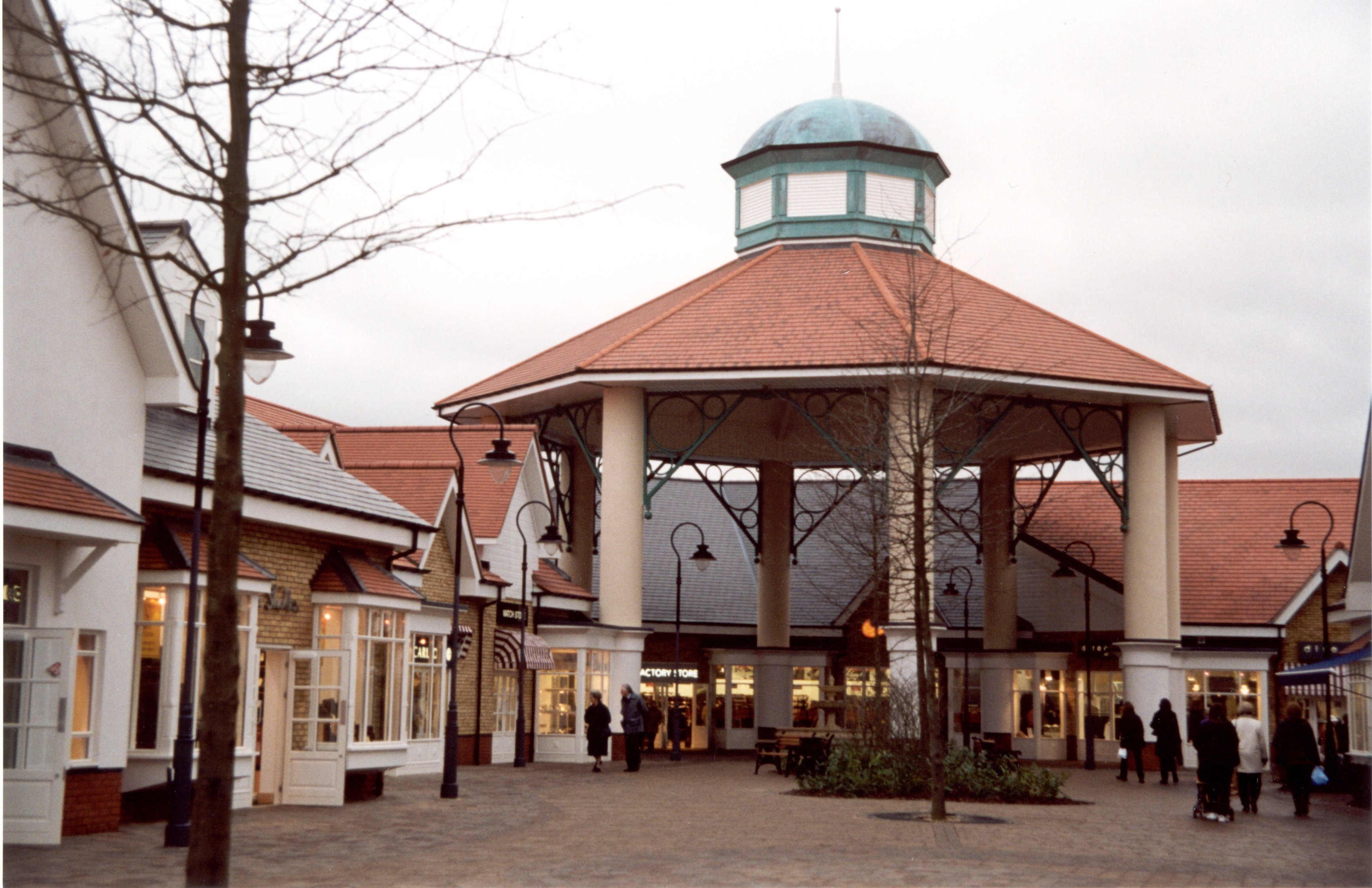 GRP Cupola on shopping centre