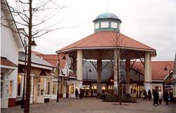 GRP Cupola on shopping centre