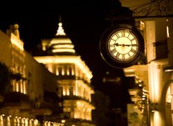 Illuminated drum clocks