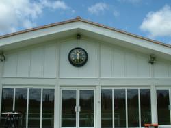 Outdoor Clock for School