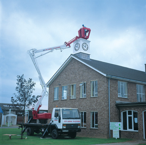 Roof Turret and Clock Tower Installation
