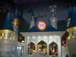 Disney Store London Clock