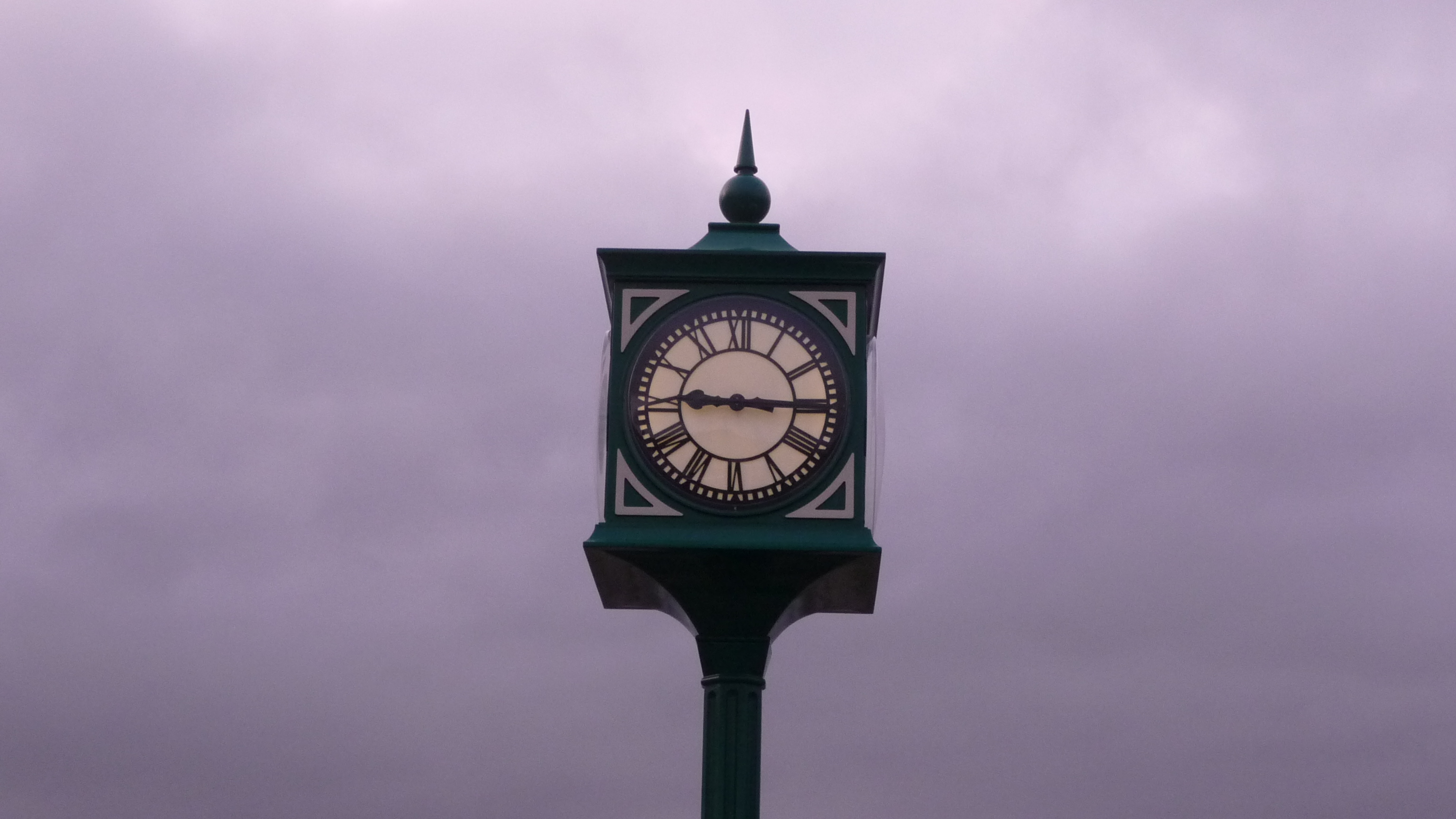 George style public pillar clock