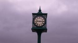 George style public pillar clock