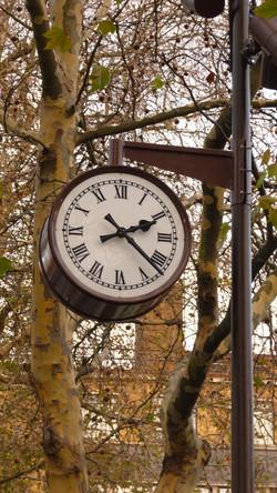 Drum clock at Olympic Park