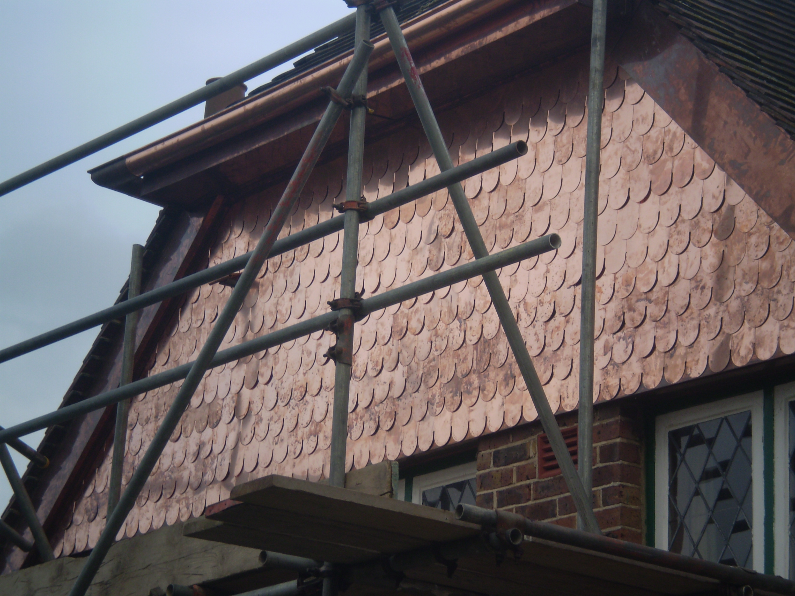 Copper Shingles