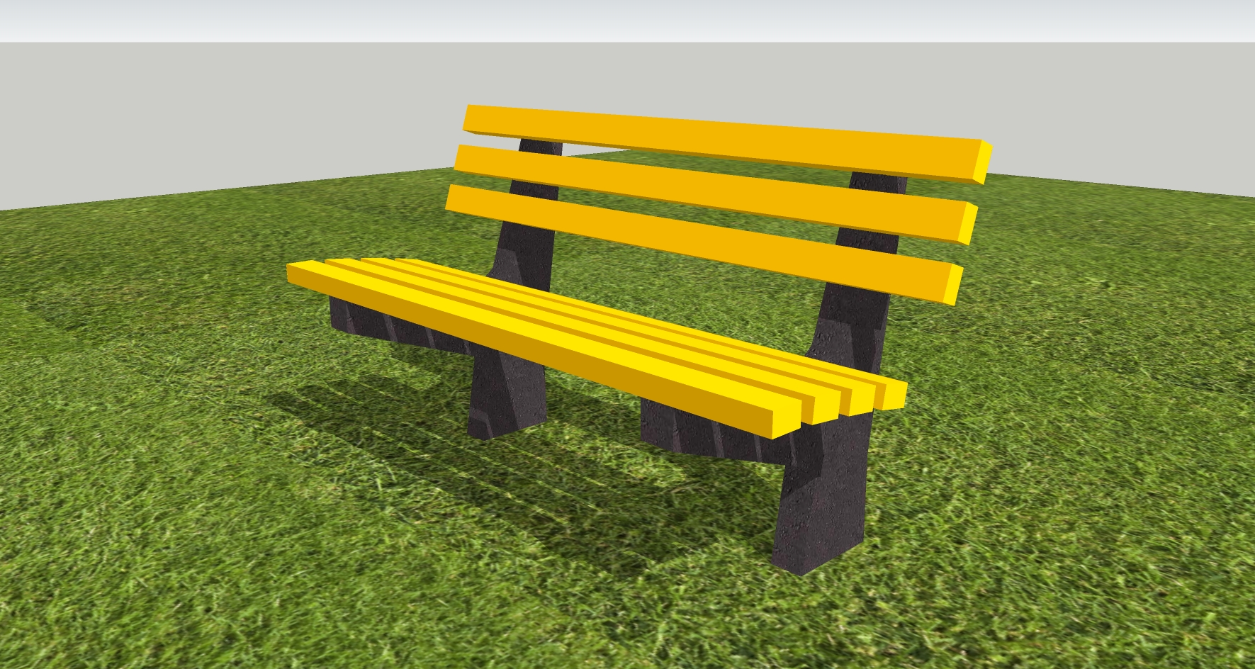 Recycled Plastic Bench Seat