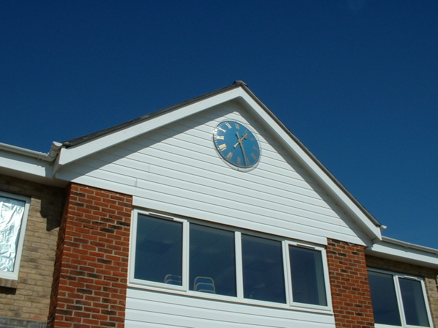 Club House Exterior Clock