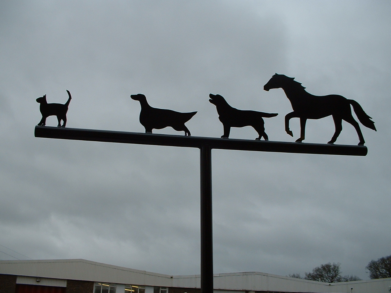 Animals Weathervane
