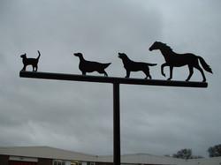 Animals Weathervane