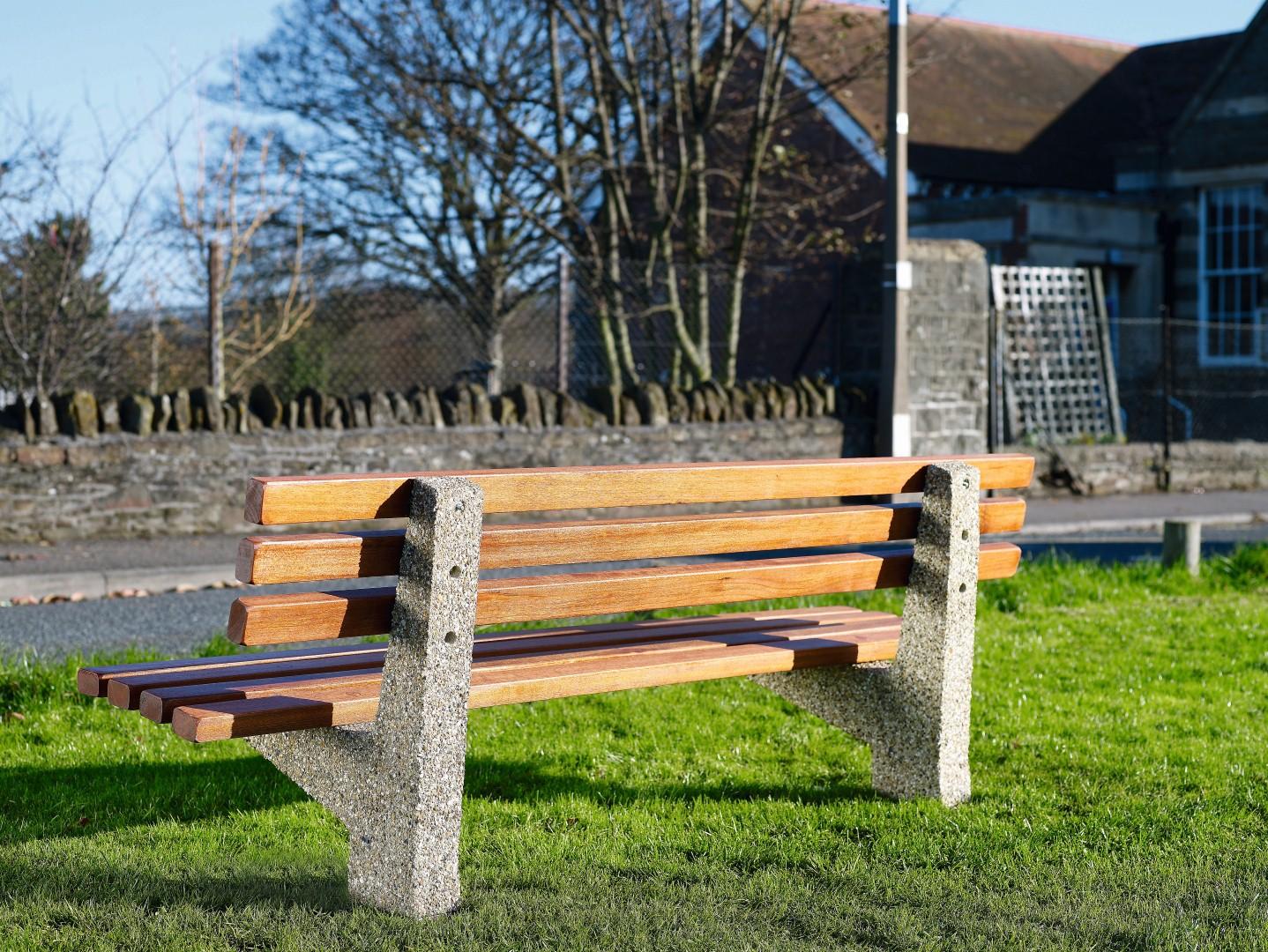 Southampton seat in park