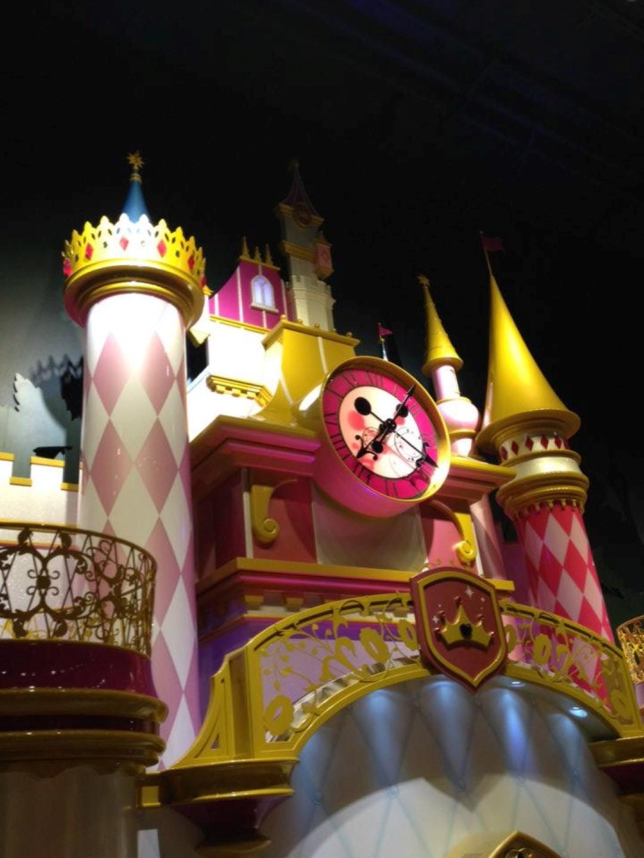 Disney Store Clock in Milan