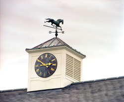 Clock tower for a racecourse
