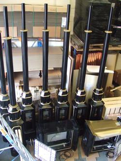Columns for pillar clocks